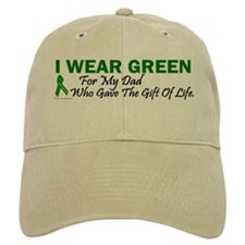 Green For Dad Organ Donor Donation Hat
