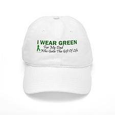 Green For Dad Organ Donor Donation Baseball Cap