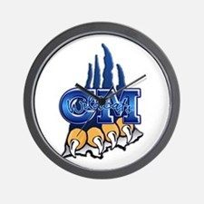 Central Mountain Wrestling 7 Wall Clock