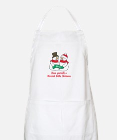 2016 Newlywed Christmas Apron