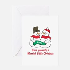 2016 Newlywed Christmas Greeting Cards