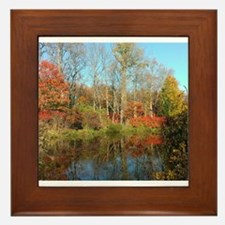 autumn colors Framed Tile