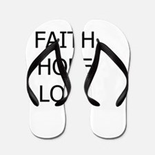 3-faith,hope.png Flip Flops
