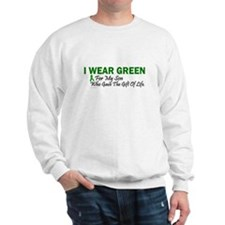Green For Son Organ Donor Donation Jumper