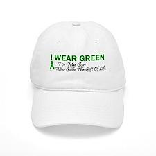 Green For Son Organ Donor Donation Baseball Cap