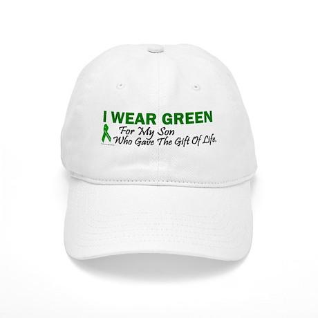 Green For Son Organ Donor Donation Cap