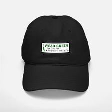 Green For Son Organ Donor Donation Baseball Hat
