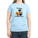 Halloween Black Cat Women's Light T-Shirt