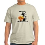 Halloween Black Cat Light T-Shirt
