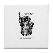 Lady Liberty Tile Coaster