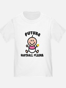 Future Softball Player T-Shirt