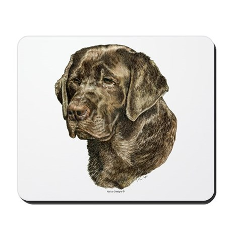 Labrador Retriever Dog Portrait Mousepad