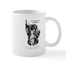 Liberty with Flag Mug