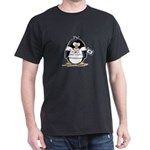 West Virginia Penguin Dark T-Shirt