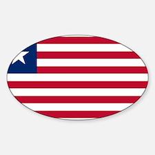 Liberia Flag Decal