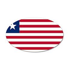 Liberia Flag Wall Decal