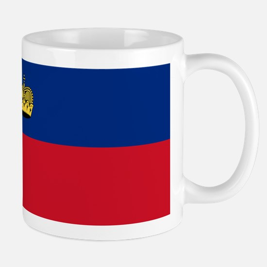 Liechtenstein Flag Mugs