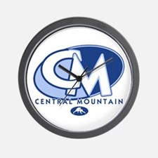 Central Mountain Wrestling 8 Wall Clock