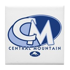 Central Mountain Wrestling 8 Tile Coaster