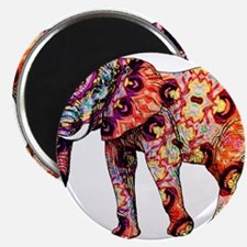 Orange Elephant Magnets