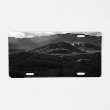 Cute Appalachia mountain Aluminum License Plate