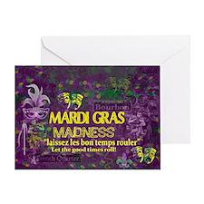 Unique Green purple Greeting Card