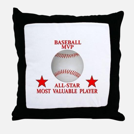BASEBALL MVP ALLSTAR Throw Pillow