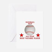 BASEBALL MVP ALLSTAR Greeting Cards