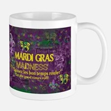 Mardi Gras Madness Bourbon French Quarter NOL Mugs