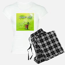 Drawn Bloody Mary Pajamas