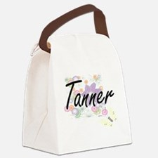 Tanner surname artistic design wi Canvas Lunch Bag
