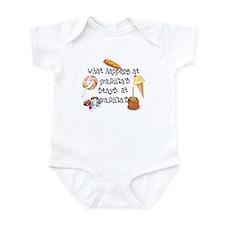 What Happens at Grandma's... Funny Infant Bodysuit