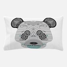 geo panda Pillow Case