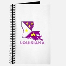 LOUISIANA PURPLE AND GOLD Journal