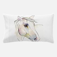 White Horse Eyes Pillow Case