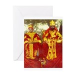 king of kingz Greeting Cards