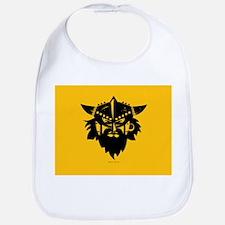 Viking Gold Cotton Baby Bib