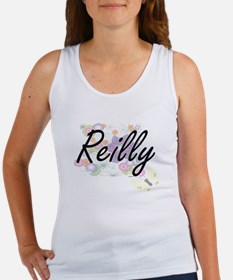 Reilly surname artistic design with Flowe Tank Top