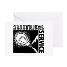 Electrical Service Greeting Card