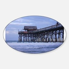 Pier Oval Decal