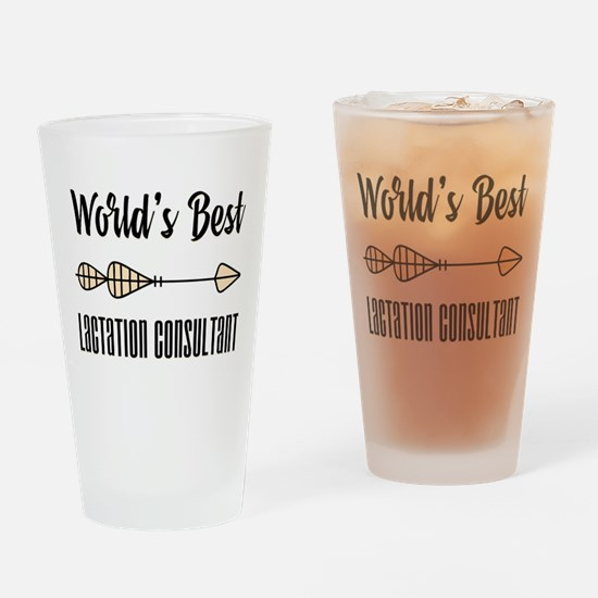 World's Best Lactation Consultant Drinking Glass