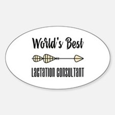 World's Best Lactation Consultant Decal