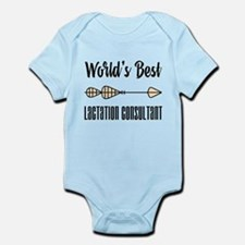 World's Best Lactation Consultant Infant Bodysuit