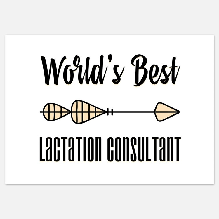World's Best Lactation Consultant Invitations