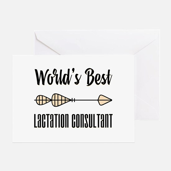 World's Best Lactation Consultant Greeting Card