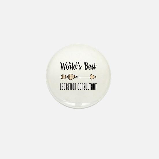 World's Best Lactation Consultant Mini Button