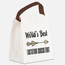 World's Best Lactation Consultant Canvas Lunch Bag