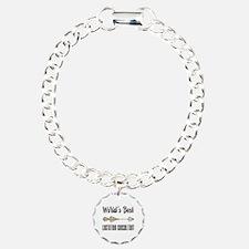 World's Best Lactation C Charm Bracelet, One Charm