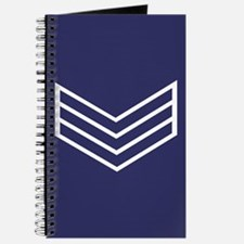 Sergeant Chevrons<BR> Personal Log Book