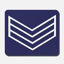 Sergeant Chevrons<BR> Mousepad